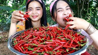 Chili Pickels With Fried Pork Recipe - Cooking Pork - My Food My Lifestyle