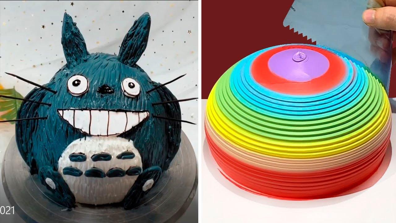 AWESOME CAKE DECORATING COMPILATION 💓| MOST SATISFYING CHOCOLATE CAKE | SUGAR CAKE # 27