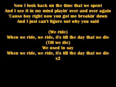 We Ride - Wikipedia