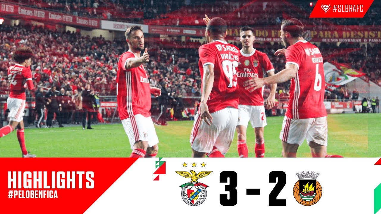 Highlights Sl Benfica 3 2 Rio Ave Fc Youtube
