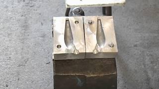 форма для литья грузил(имеется форма для продажи вес груза 90гр., 2014-03-29T17:31:24.000Z)