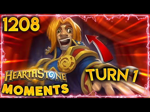 TURN 1 BARNES Is Not Fun To Play Against  Hearthstone Daily Moments Ep1208