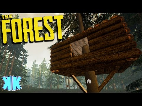 The Forest | TREE FORTRESS OR SNOW BIOME?! | Gameplay | S2 EP2