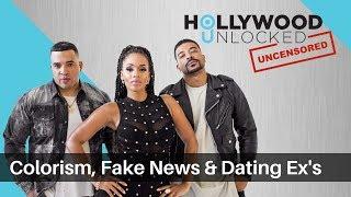 DJ Damage Guest Hosts, talks Colorism & Friends Dating Ex's on Hollywood Unlocked [UNCENSORED]