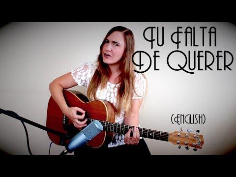 Tu Falta De Querer - Mon LaFerte (English cover by Donnelle Brooks)