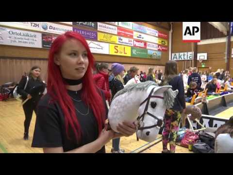 Hobby-Horsing Craze in Finland Shows Girl Power