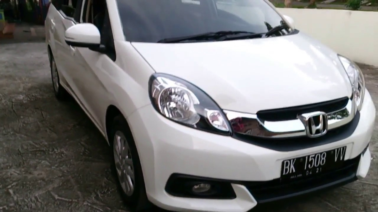 2016 New Honda Mobilio E Cvt Automatic At Review Test Youtube