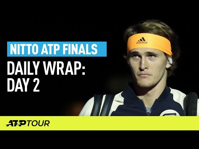 Zverev, Tsitsipas Star in London | Nitto ATP Finals | ATP