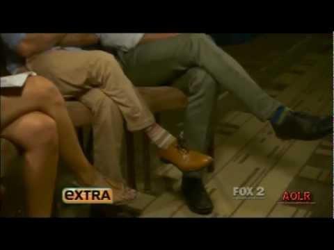 Hawaii Five-0: Alex O'Loughlin & Scott Caan on Extra - July 30, 2012