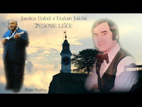 Janika Balaž i Dušan Jakšić - JESENJE LIŠĆE (Uzalud behu sve nade moje) Tekst