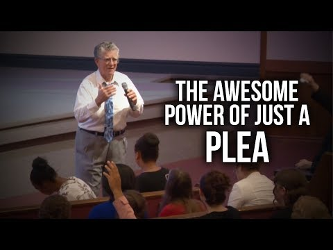 """The Awesome Power of Just a Plea"" – Rev. Jeff Arnold"