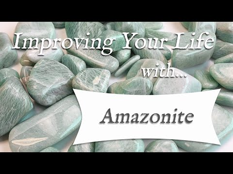 AMAZONITE 💎 TOP 4 Crystal Healing Benefits Of Amazonite | The Soothing Stone