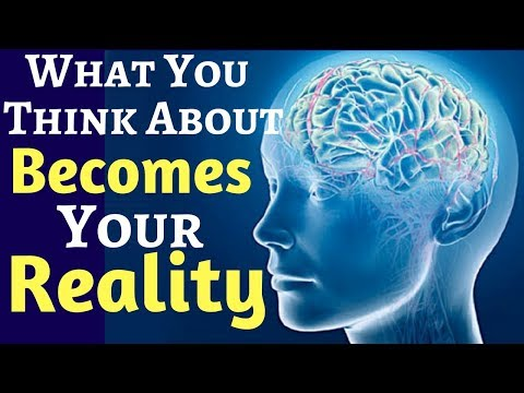 Your Thoughts Become Your Reality | Law of Attraction