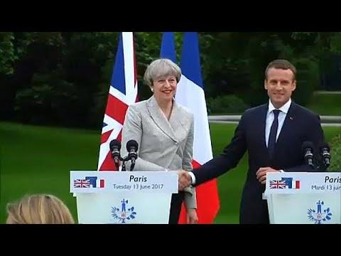 May y Macron anuciarán un nuevo tratado fronterizo de Calais