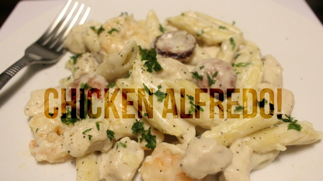 how to make chicken alfredo You already know that alfredo sauce is creamy, cheesy and rich try it in this luscious chicken alfredo pasta bake for a delicious meal.
