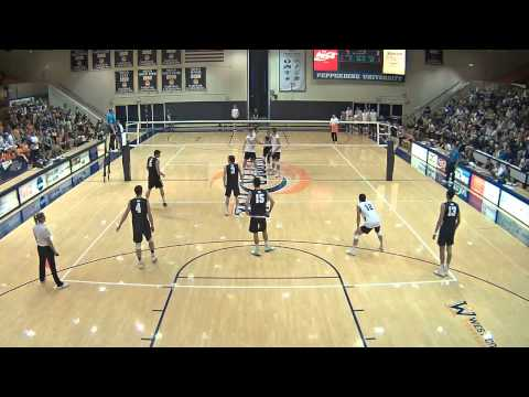 Pepperdine Men's Volleyball vs. BYU 02.15.2013