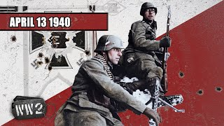 The Invasion of Norway and Denmark - WW2 - 033 - April 13 1940