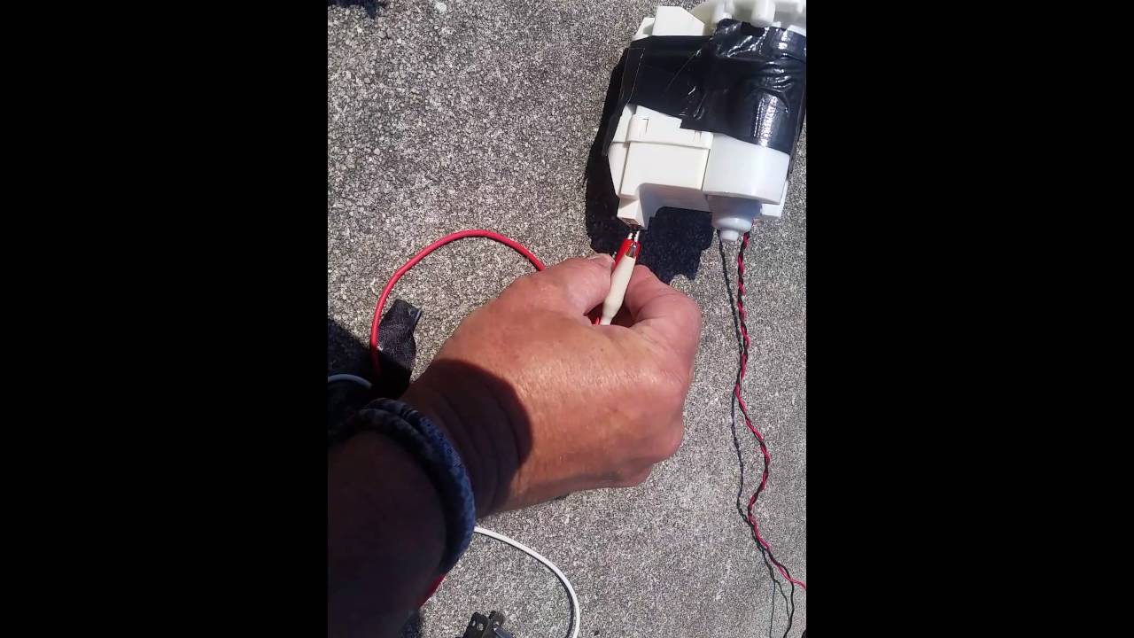 Ac From 12 Volt Dc 25 Watt Panel Youtube Wiring To