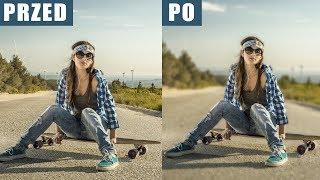 Jak zrobić efekt BOKEH | ROZMYCIA na zwykłym zdjęciu | Photoshop Tutorial