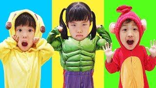 If you are happy Song   교육으로 동요와 아기의 노래를 Mainan dan lagu anak-anak