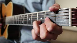 Even Though I'm Leaving - Luke Combs | Acoustic Guitar Cover