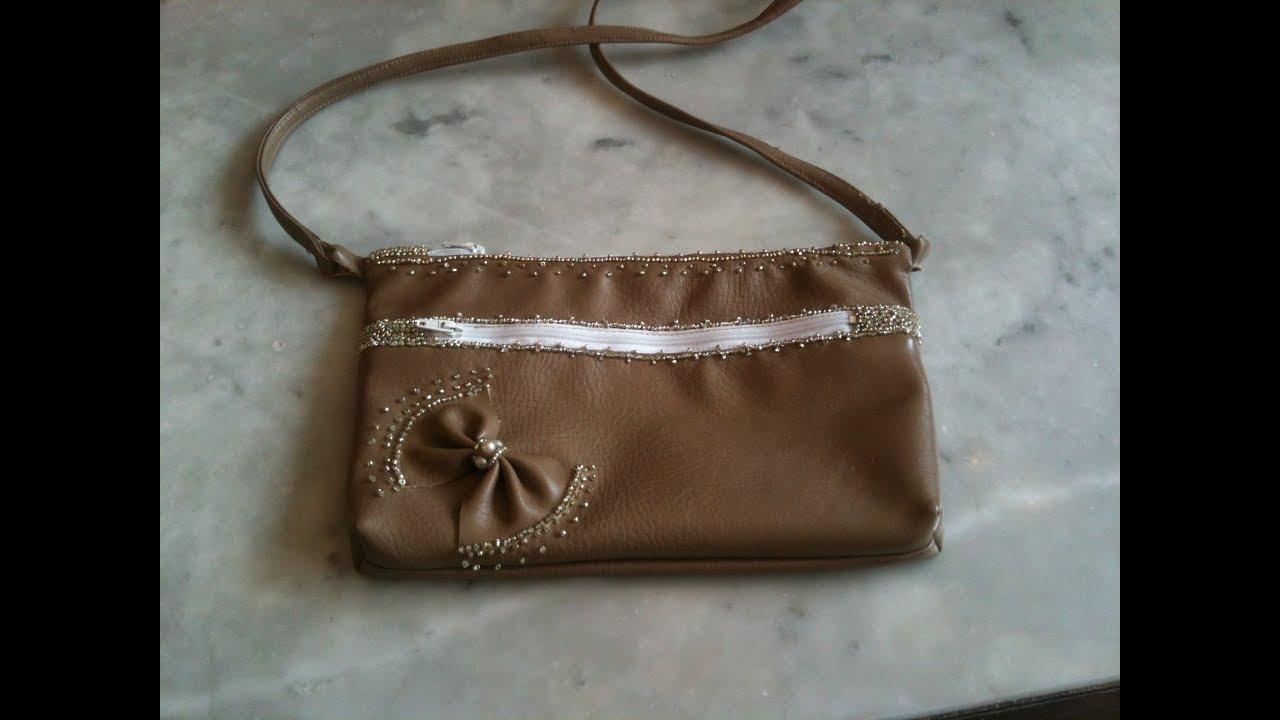 a718509541d26 طريقة خياطة حقيبة مميزة بخطوات بسيطة أشغال يدوية diy craft - YouTube
