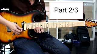 How to play : Canon Rock Solo Lesson Part 2/3 By Nut