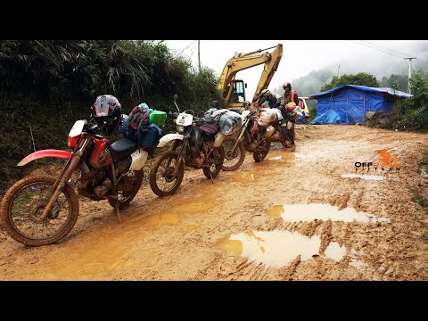 Vietnam Extreme Off-road Dirt Bike Tours & Rentals On XR250 Honda - https://HiddenVietnam.com