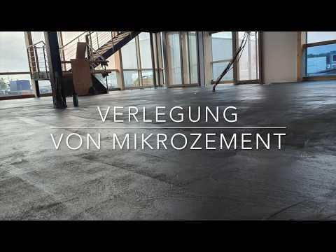 Wer verlegt Mikrozement in Berlin? Microzement Boden verlegen lassen - BMS Mikrozement Fachbetrieb