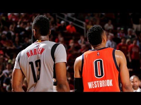 Russell Westbrook & James Harden MEGAMIX!!! Best Plays of 2016-2017