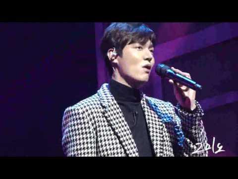 """160116 Lee Min Ho 1st Talk Concert """"그대와함께"""""""
