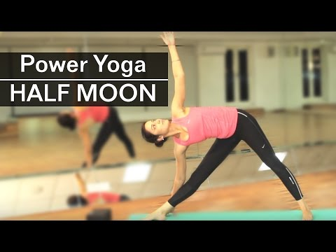How To Do HALF MOON POSE | ARDHA CHANDRAASANA