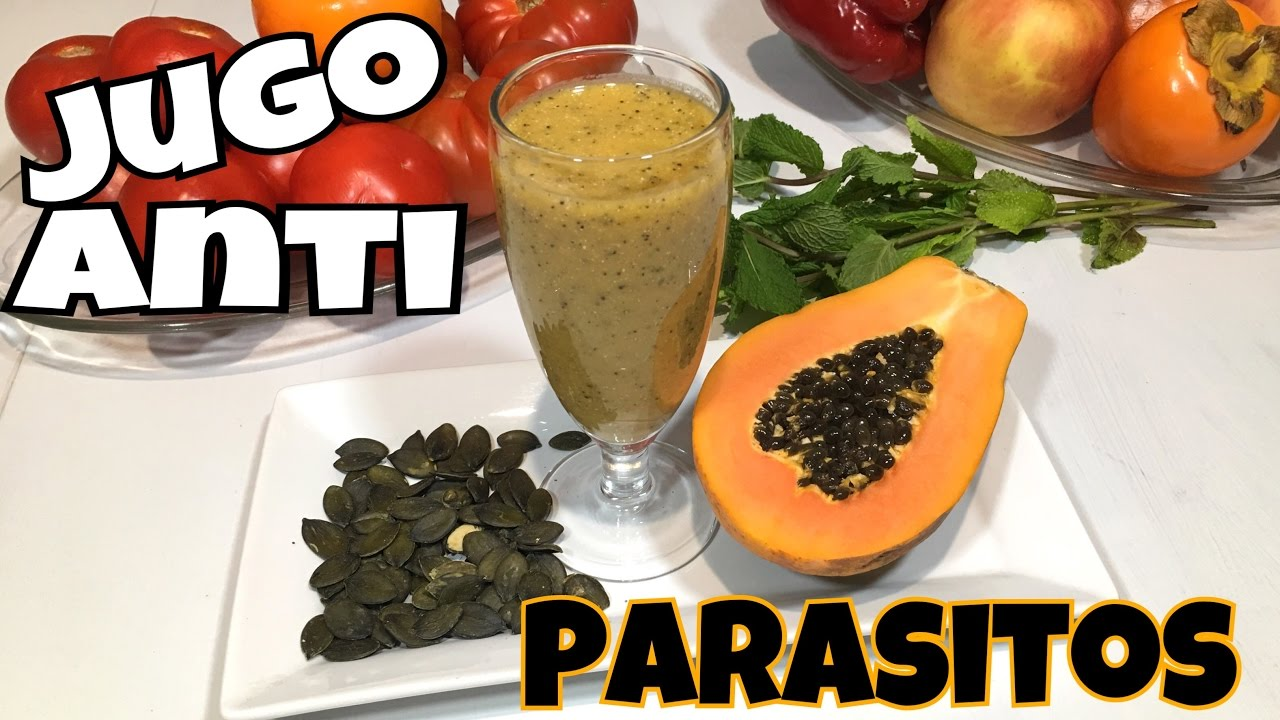 a las semillas de calabaza matar parásitos