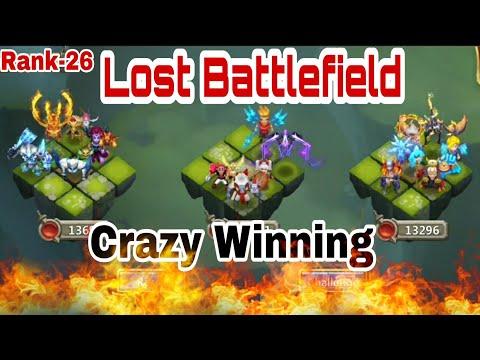 Lost Battlefield   Last Day And First Day   Rank 26 Last Week(1000-1500 Bracket)   All Warden Team