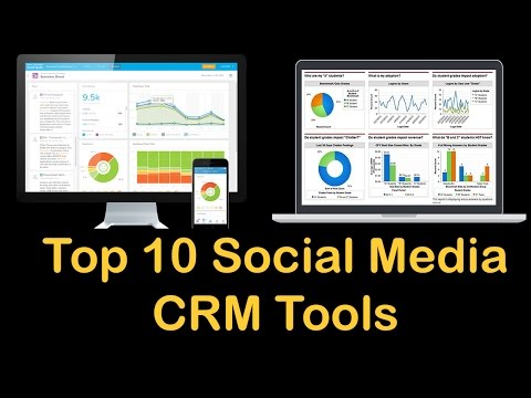top 10 social media crm tools | batchbook | nimble | bluecamroo | sugarcrm | radian6 | socialtext