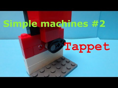 Lego simple machines: Tappet (episode two)