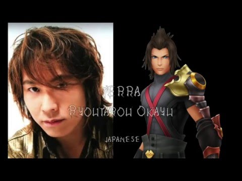 Kingdom Hearts Birth by Sleep Final Mix - All Characters and Voice Actors Part 1