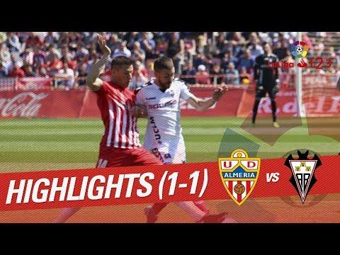 Resumen de UD Almería vs Albacete Balompié (1-1)