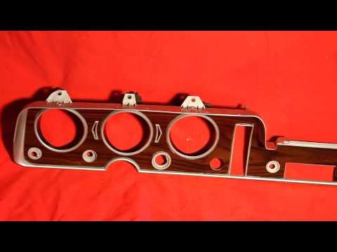 1964 1965 1966 1967 1968 GTO Dash Insert Panel Cluster