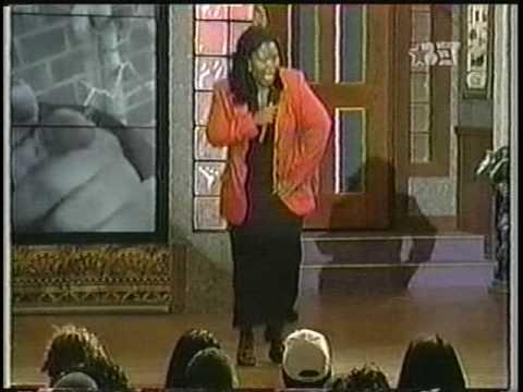 "EDWONDA WHITE DOING ""JESUS IS THE HOMEY"" ON COMIC VIEW"