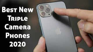 Top 5 New Triple Camera Phones to buy in 2020