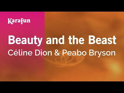 Karaoke Beauty And The Beast - Céline Dion *