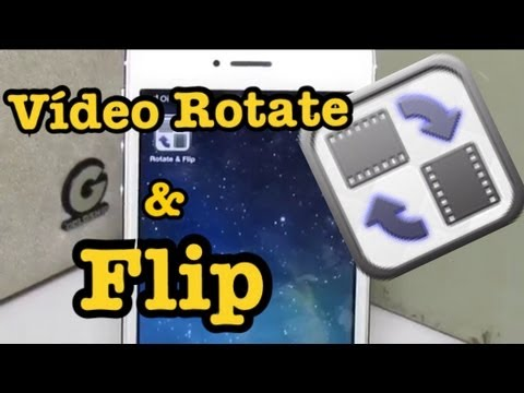 Dica de app: #52 Video Rotate & Flip por  iPhoneBrasil22