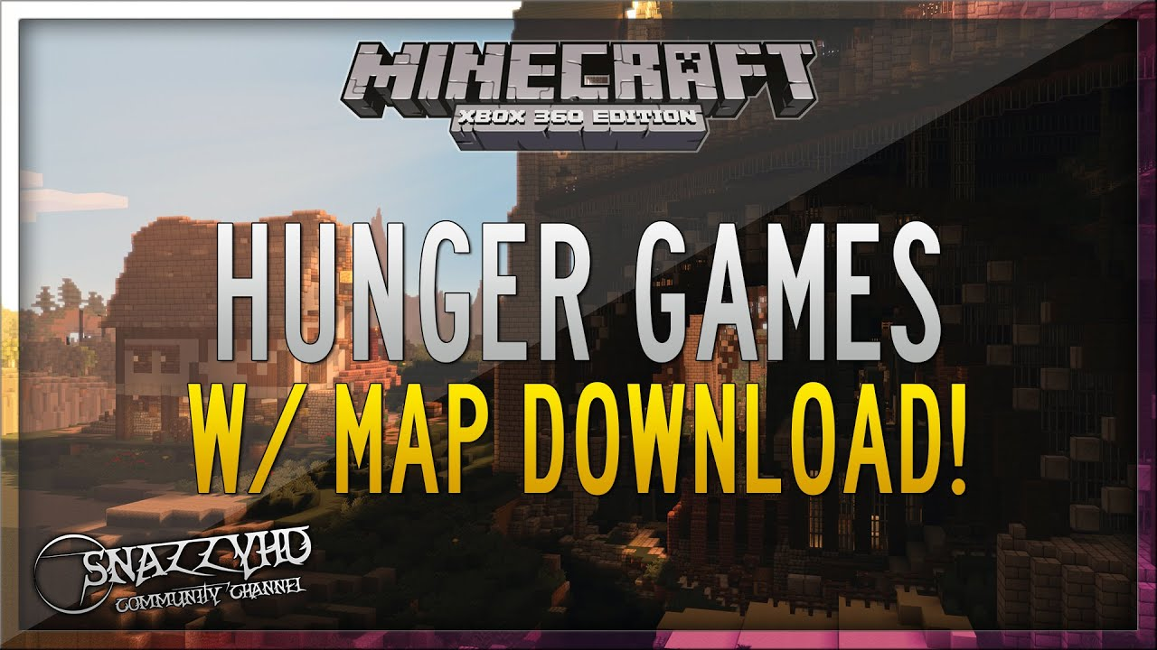 minecraft xbox 360 hunger games stronghold map download