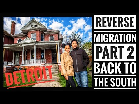 Do Black People Need A Second Great Migration Back To The South ?