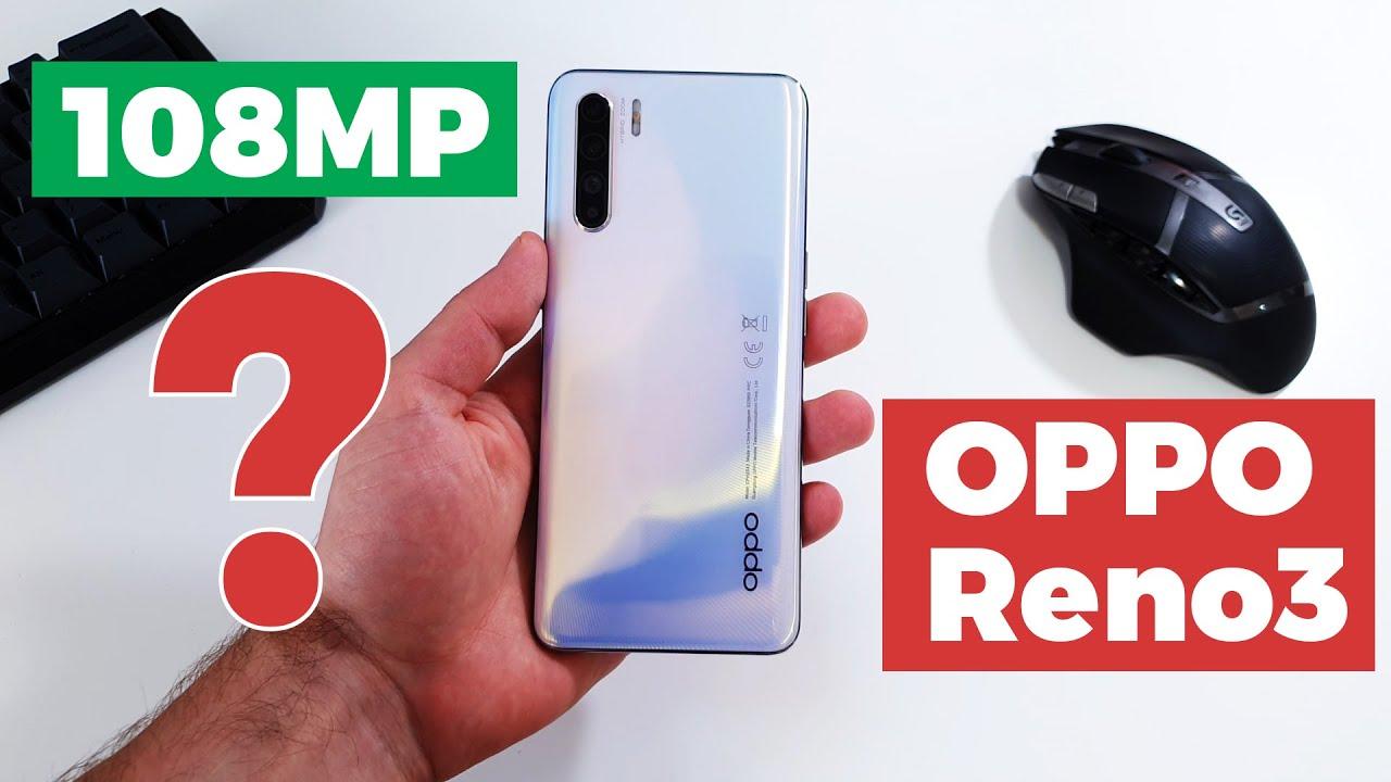 108 Megapixeli la 1.500 LEI - OPPO Reno3 Review