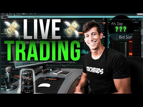 LIVE DAY TRADING WITH RICKY GUTIERREZ
