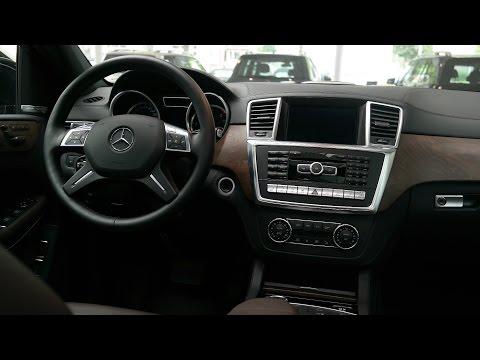 Mercedes-Benz GL 350 BlueTec 4MATIC 2014 Interior and Exterior Review