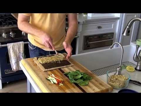 How to Roll Quinoa Vegetable Sushi