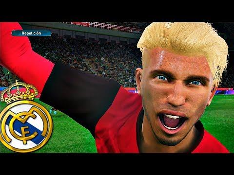 El partido de los 8 GOLES contra el REAL MADRID!!!   PES 2017